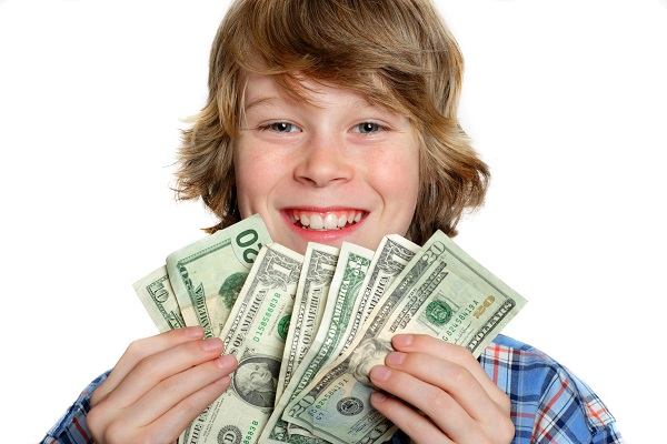 çocuk ve para